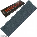 "MINI LOGO Black Skateboard Griptape Grip Tape 9"" x33"" Sheet"